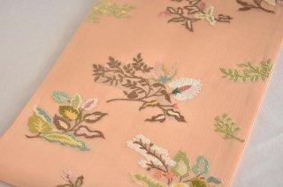 袋帯 袿錦 「プラド花文」