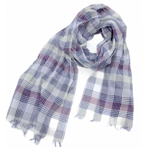 大判ストール 綿100% 播州織り日本製 空気を纏うような軽量感とやわらかさ