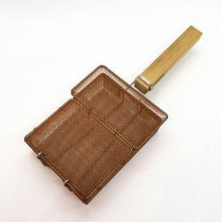 鳥井金網工芸 銅製 胡麻煎り