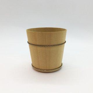 桶屋近藤 椹(さわら)ぐい呑み 二寸