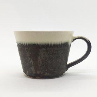トキノハ shiro-kuroシリーズ コーヒーカップ 緑白
