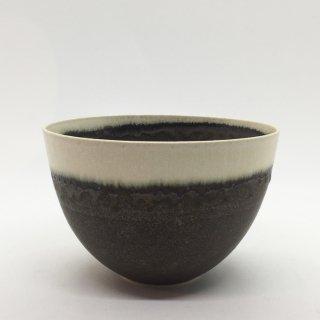 トキノハ shiro-kuroシリーズ 3寸碗 緑白
