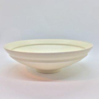 トキノハ shiro-kuroシリーズ 7寸鉢 白