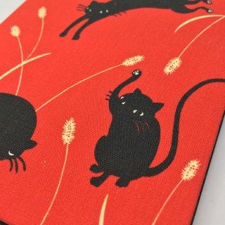 御朱印帳 黒猫