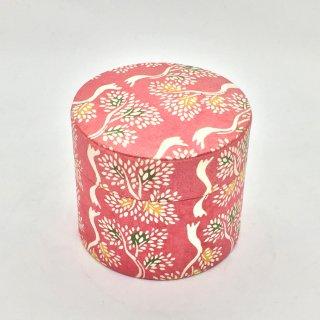 鈴木松風堂 入れ子ボックス 小サイズ「立樹文 ピンク色」