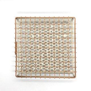 鳥井金網工芸 銅製 セラミックパン焼き網