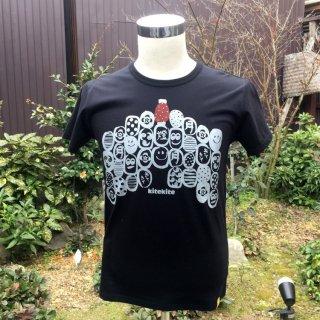 京都 kitekite (キテキテ)  Tシャツ 祇園祭 (メンズ、レディース共通)