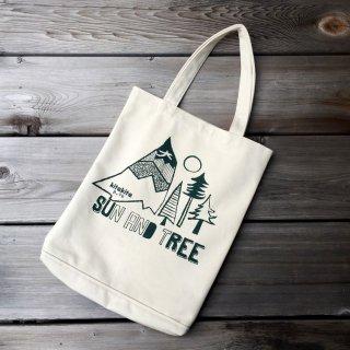 京都 kitekite (キテキテ)  帆布トートバッグ SUN AND TREE