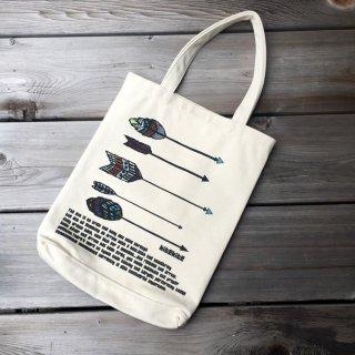 京都 kitekite (キテキテ)  帆布トートバッグ 5本の矢