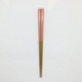 公長斎小菅 子供箸 ピンク 長さ17cm
