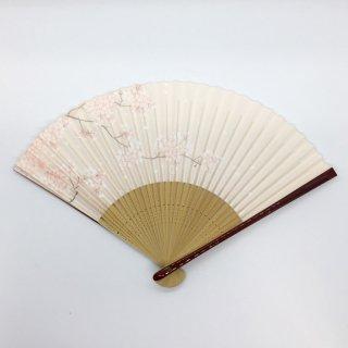 大西常商店 京扇子 桜 ピンク(女性用)