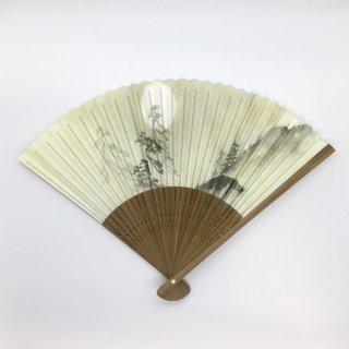 大西常商店 京扇子 水墨画(男性用)