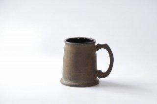 ビアマグカップ・いぶし金