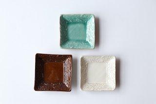 角皿正方形・押型小