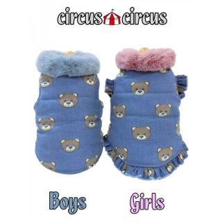 【セール】Toy Bear Denim 中綿コート/サーカスサーカス