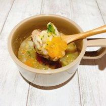 【冷凍】春野菜たっぷり鶏つみれスープ