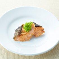 【ネコポス対応】ハロードッグ 鮭のグリーンソース