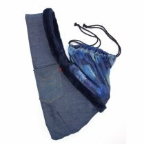 【送料無料】DLS Denim Fur Sling