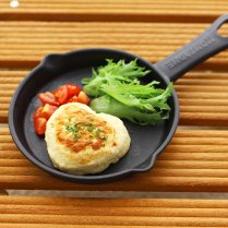 【冷凍】豆腐とひじきのハンバーグ(2個セット)/ひまカフェオリジナル