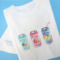 【circus circus】Fruits Soda Owners T(涼感加工)ママ用Tシャツ◎2020 春夏コレクション