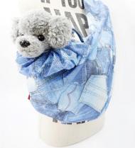 予約販売【circus circus】MESH DENIM POCKET スリング(涼感加工)◎2020 春夏コレクション