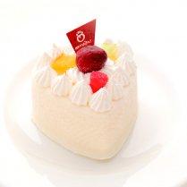 【冷凍】ハートチーズケーキ(ミルク・いちご)/ひまカフェオリジナル
