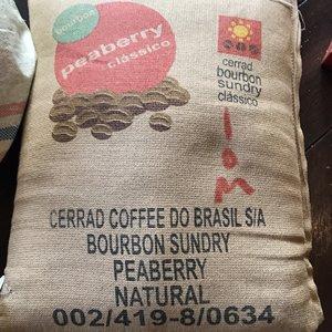 ブラジル セラード 一番摘み ブルボン ピーベリー ナチュラル(焙煎豆 200g)