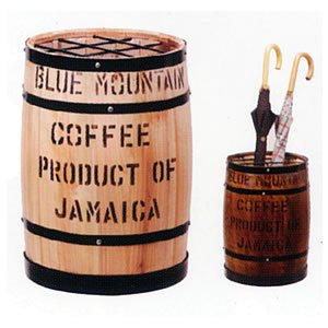 コーヒー樽傘立(茶)