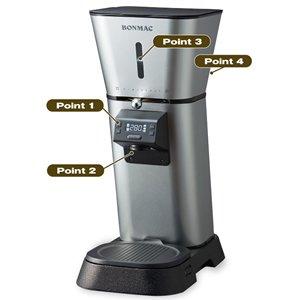 BONMAC コーヒーグラインダー(自動計量機能付)