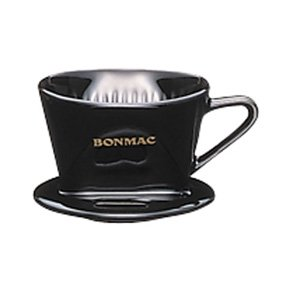 コーヒードリッパー CD-1B 1〜2杯用陶器製ブラック