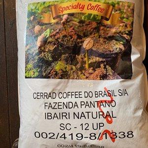 ブラジル セラード パンタノ イバイリ(焙煎豆 200g)