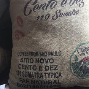ブラジル サンパウロ シティオノーボ スマトラ ティピカ(焙煎豆200g)