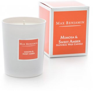 MIMOSA & SWEET AMBER[CANDLE]