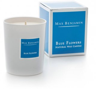 BLUE FLOWERS[CANDLE]