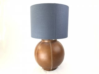 RUGBY LAMP -SADDLE BROWN LEATHER