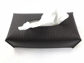 Rectangular Tissue Box Tobacco/Firenze