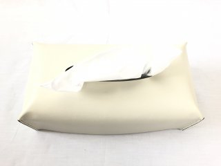 Rectangular Tissue Box Cream/London
