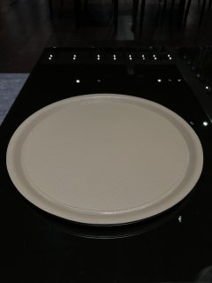 Round Tray ALBI Taupe/Luxor