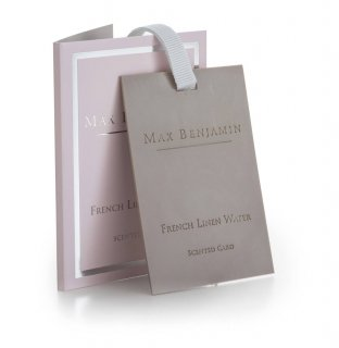 FRENCH LINEN WATER[SCENTED CARD]