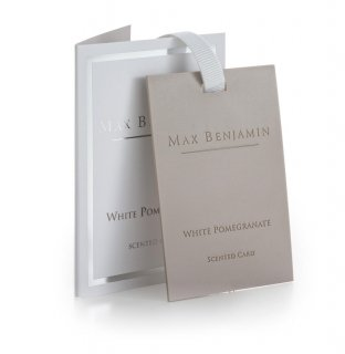 WHITE POMEGRANATE[SCENTED CARD]