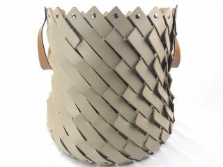ALMERIA BASKET MEDIUM  TAN HANDLE ANTIBES / TAUPE