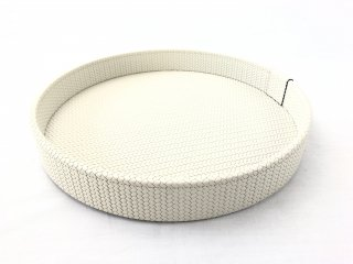 ROUND TRAY GEA SMALL FIRENZE / CREAM