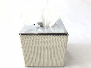 SQUARE TISSUE HOLDER HARD STRUCTURE	FIRENZE / CREAM