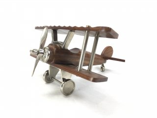 Ornament PLANE airplane wood