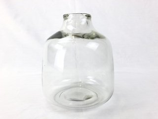 Vase DEONI glass clear