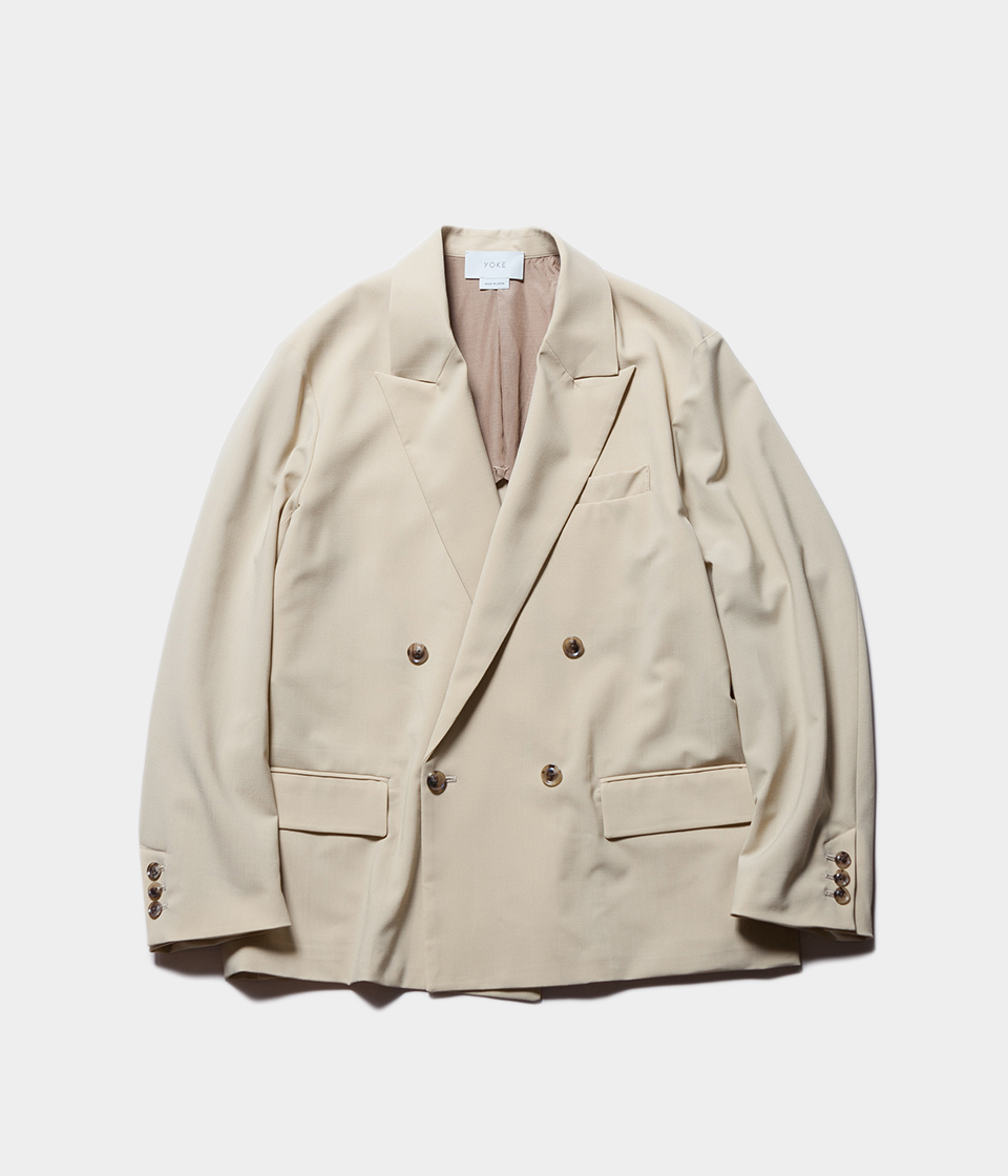 YOKE ヨーク DOWNSIZING DOUBLE BREASTED JACKET ダブルブレステッドジャケット