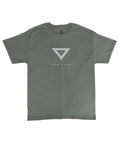 VHTS Triangle Logo T-shirts(Washed Green)