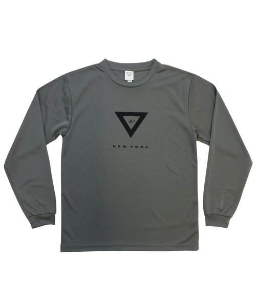 VHTS OMC WORKOUT LONG T-SHIRT (DARK GREY)