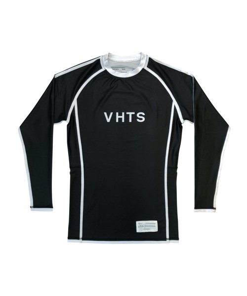 RANKED RASH GUARD LONG SLEEVES 2019(BLACK)