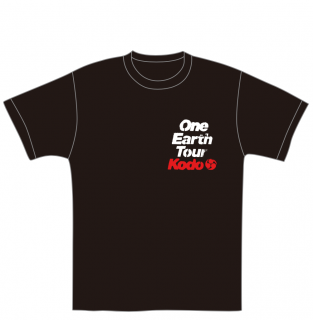 鼓童ツアーTシャツ(道)